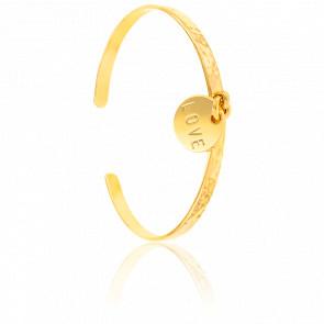 Bracelet jonc Love Plaqué Or Jaune