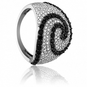 Bague Tourbillon de Diamants