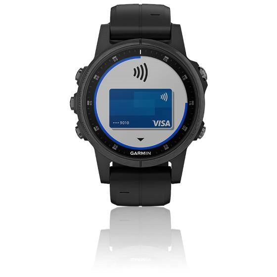 Montre Fēnix 5S Plus  Black Sapphire 010-01987-03
