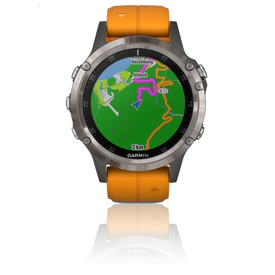 Montre Fēnix 5 Plus 010-01988-05 Orange