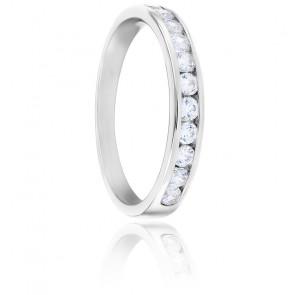 Alliance Anténor, Diamants 0,40 ct & Or Blanc 18K