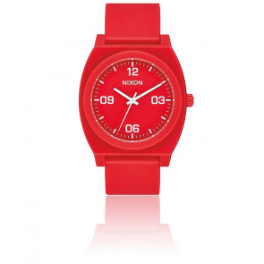 Montre Time Teller P Corp  Rouge A1248-3008