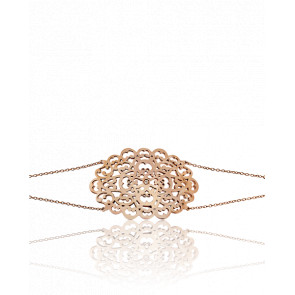 Bracelet Dentelle Vermeil Or rose