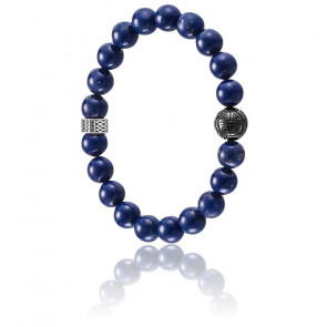 Bracelet Royal Blue & Argent, A1534-930-32