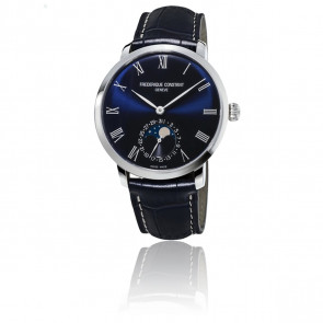 Montre Manufacture Slimline Moonphase FC-705NR4S6