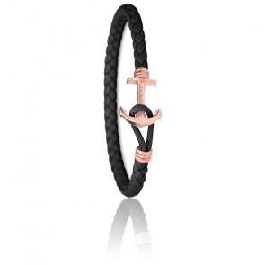 Bracelet Ancre PHREP Lite IP Or Rosé Noir