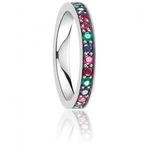 Bague Royalty Pierres Multicolores, TR2144-322-7