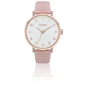 Montre Arrow Leather Rose Gold/Light Pink A1091-3027