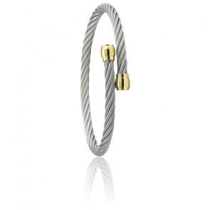 Bracelet Celtic Sceau Acier & PVD Or Jaune