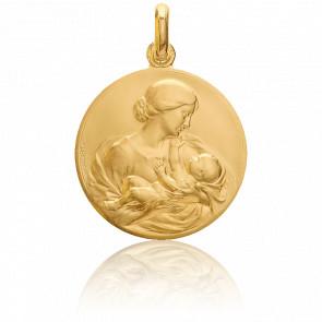 Médaille Maternité Or Jaune 18K