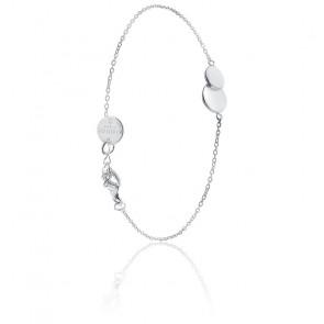 Bracelet Double Rond Argent
