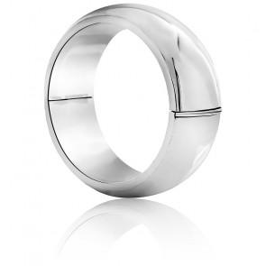 Bracelet Jonc 25 mm Argent