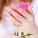 Alliance Firoza Or Rose & Or Blanc Diamanté 18K
