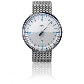 Montre UNO24 Plus White Blue Quartz Stainless Steel