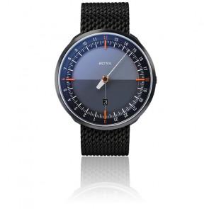 Montre UNO24 Plus Black Edition Orange Quartz Stainless Steel