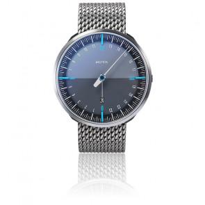 Montre UNO24 Plus Black Blue Quartz Stainless Steel