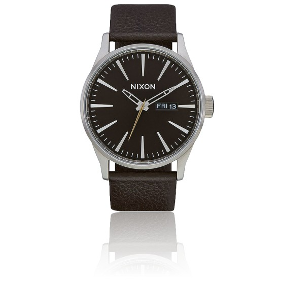 Montre Sentry Leather Dark Brown A105 2986