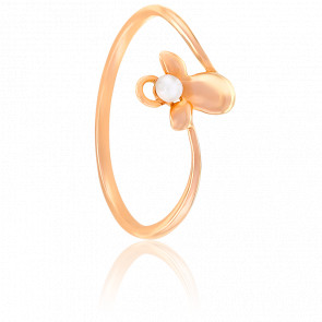 Bague Mon Ange Perle de Culture & Or Rose 18K
