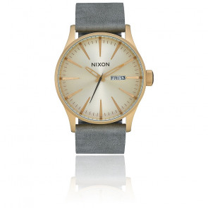 Montre Sentry Leather All Light Gold / Gray A105-2982-00