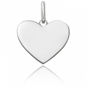 Pendentif Cœur Small Argent, LBPE0002-001-12