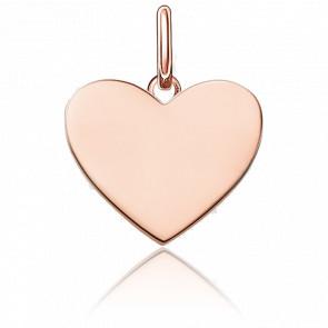 Pendentif Cœur Small Plaqué Or Rose, LBPE0002-415-12