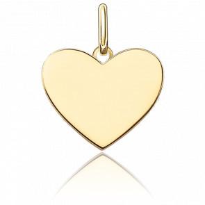 Pendentif Cœur Small Plaqué Or Jaune, LBPE0002-413-12