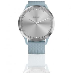 Montre Vivomove HR Sport Silver avec bracelet en silicone bleu 010-01850-08