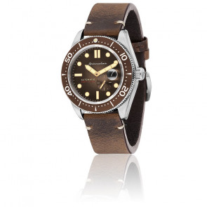 Montre Croft Cuir Marron SP-5058-02
