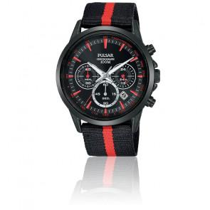 Montre Chrono Acier Bracelet Nato PT3973X1