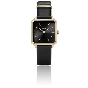 Montre La Garçonne Gold Black/Black CL60008