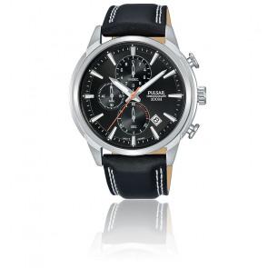 Montre chronographe cuir noir PM3119X1