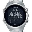 Montre chrono affichage digital acier PQ2055X1