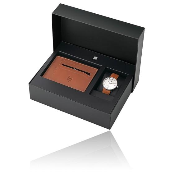Coffret Dauphine 38 + Porte-carte brown 670100