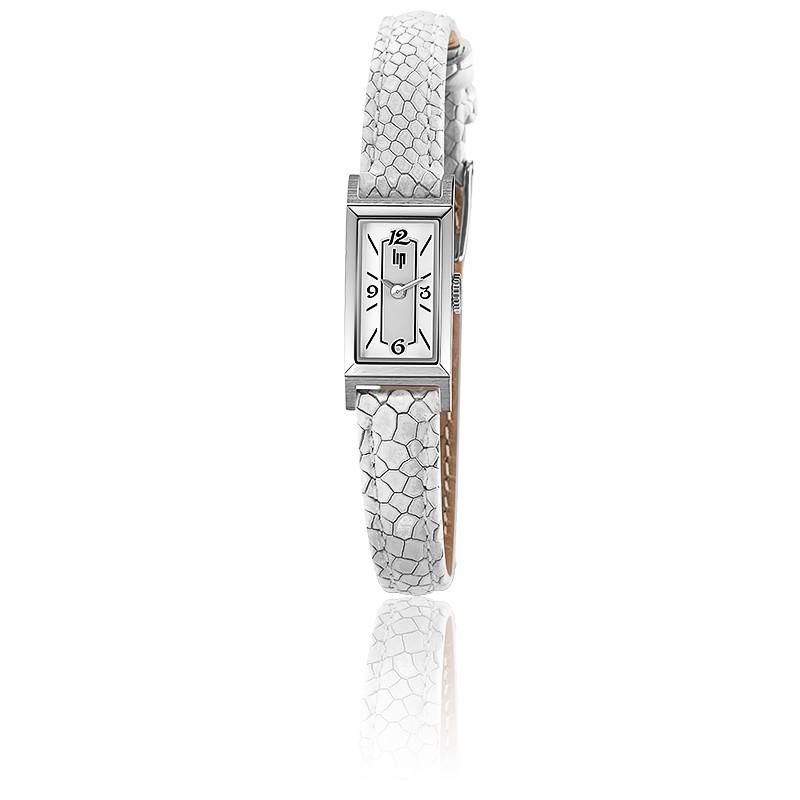 Montre Churchill T13 Chrome Bracelet Blanc 671213
