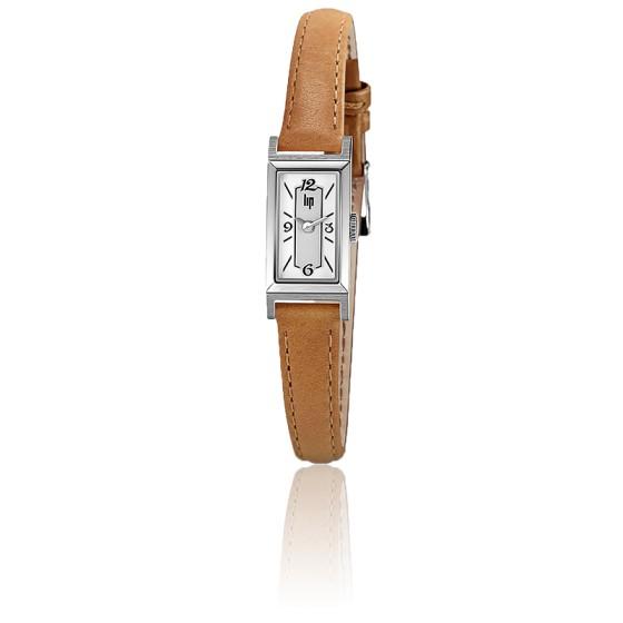 Montre Churchill T13 Chrome Bracelet Marron 671214
