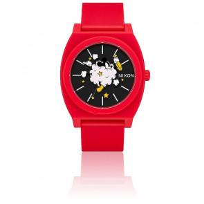 Montre Time Teller P Red / Black A119-3098
