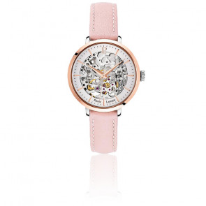 Montre Automatique Cuir Rose 312B625