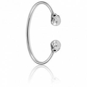 Bracelet Jonc Tête de Mort, AR082-637-12