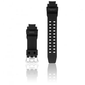 Bracelet résine noir et gris GA-1100-1A1