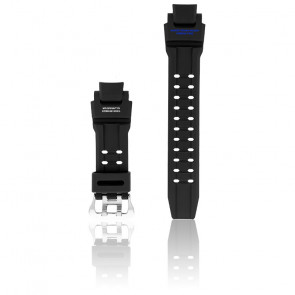 Bracelet résine noir GA-1100-2B