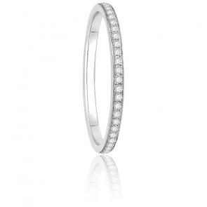 Alliance Séléna Diamants 0,30 ct & Or Blanc 18K