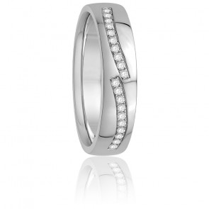 Alliance Marina Diamants & Or Blanc 18K
