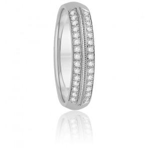Alliance Eloane Diamants & Or Blanc 18K