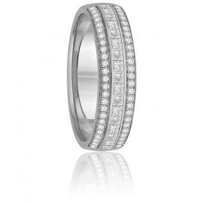 Alliance Arinna Diamants & Or Blanc 18K