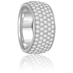 Alliance Galina Diamants & Or Blanc 18K