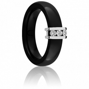 Bague Cosse de Diamants, 0,02 ct