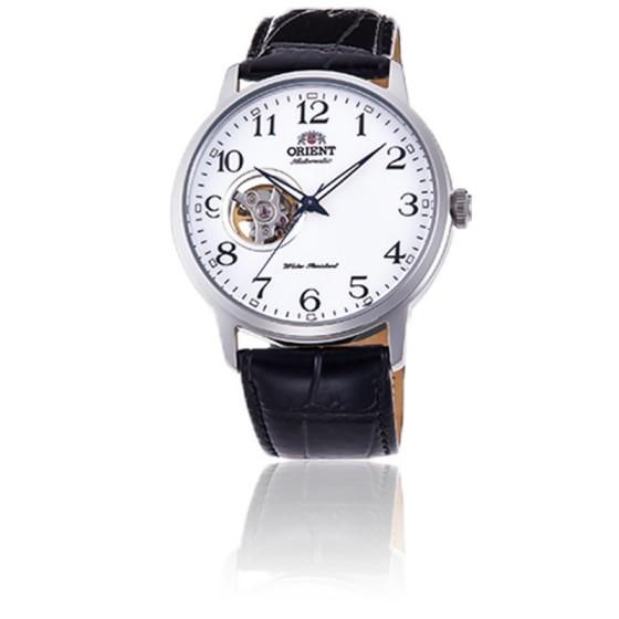 Montre Mécanique Classique Bracelet Cuir RA-AG0009S