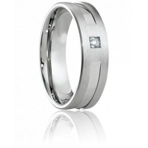 Alliance Poros Or Blanc 18K & Diamant