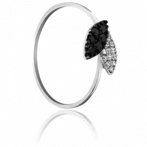 Bague Sequoia Or et Duo de Diamants