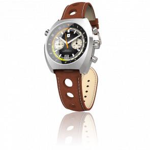 Curve-Chrono watch Version A Black 42mm